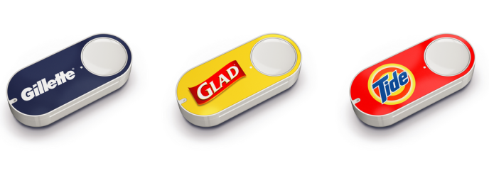 Les boutons Amazon Dash.