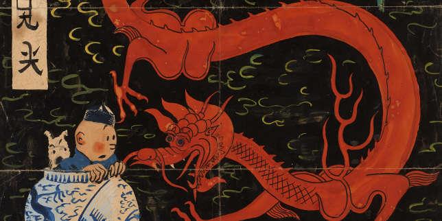 Une illustration du «Lotus bleu» provoque une âpre querelle parmi les experts de Tintin
