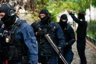 Un groupe d'intervention de la gendarmerie, à proximité de la rue Nicolas-Appert où a eu lieu l'attaque, à Paris, le 25 septembre.