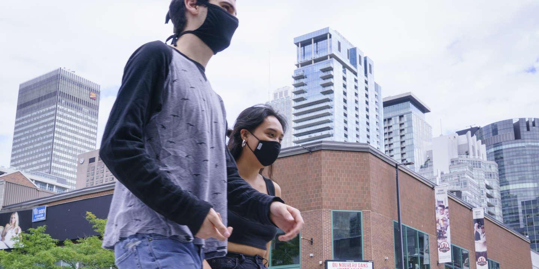 Covid-19 : Montréal tente de sauver son centre-ville