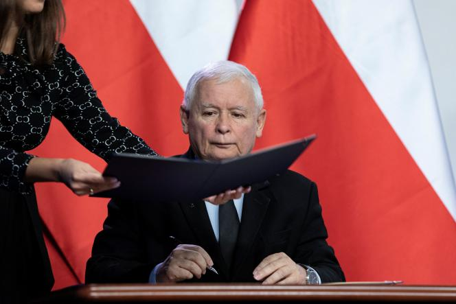 Jaroslav Kaczynski, Leader of the Law and Justice Party (PiS), September 26, 2020.