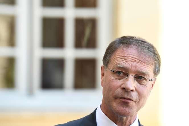 François Asselin, président de la la Confédération des petites et moyennes entreprises, le 9 juillet 2020 à Paris.