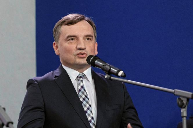 Le ministre de la justice polonais, à Varsovie en septembre 2020.
