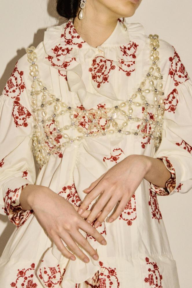 Défilé Simone Rocha, à Londres, collection printemps-été 2021.
