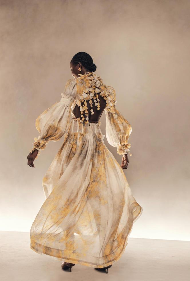 Défilé Zimmermann, à New York, collection printemps-été 2021.