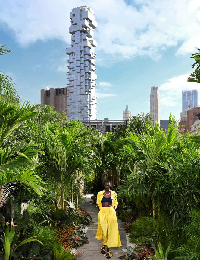 Défilé Jason Wu, à New York, le 13 septembre 2020, collection printemps-été 2021.