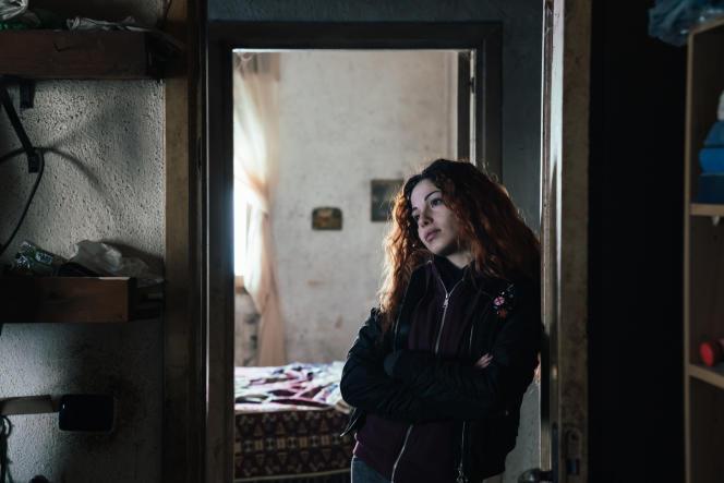 L'actrice Nora Stassi dans « L'Agnello », le film de Mario Piredda.