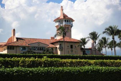 Le club de luxe de Mar-a-Lago, à Palm Beach, en Floride, propriété deDonald Trump, le 1 novembre 2019.