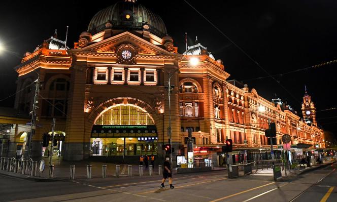 A Melbourne (Australie), le 28 septembre 2020.