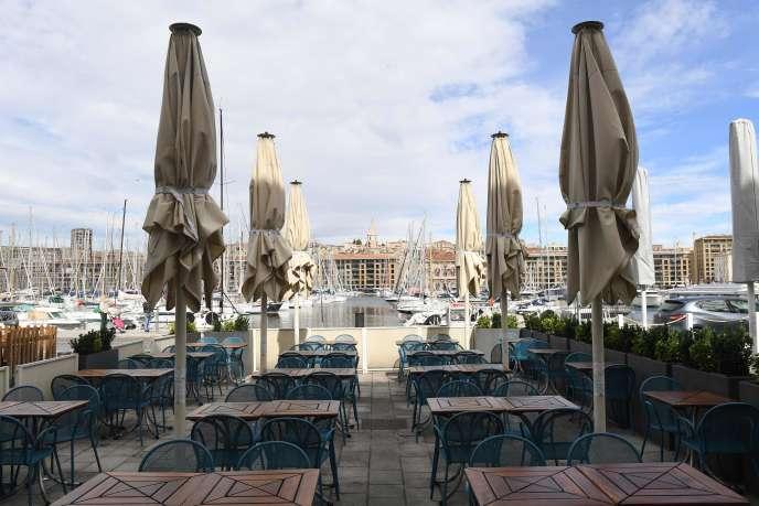 Au Vieux-Port de Marseille, le 28 septembre.