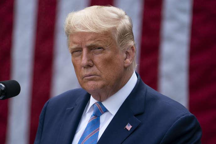 Le président américain Donald Trump à la Maison Blanche le 28 septembre.