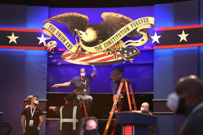 Le premier débat entre Joe Biden et Donald Trump aura lieu mardi 29 septembre à la Case Western University à Cleveland, dans l'Ohio.