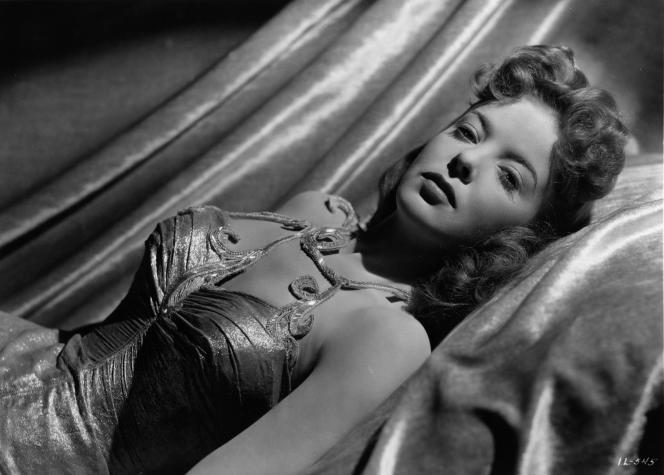 L'actrice et réalisatrice Ida Lupino dans«The Man I Love» (1947), de Raoul Walsh.