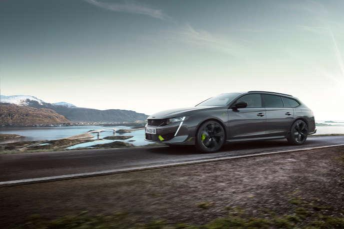 La 508 PSE break de Peugeot.