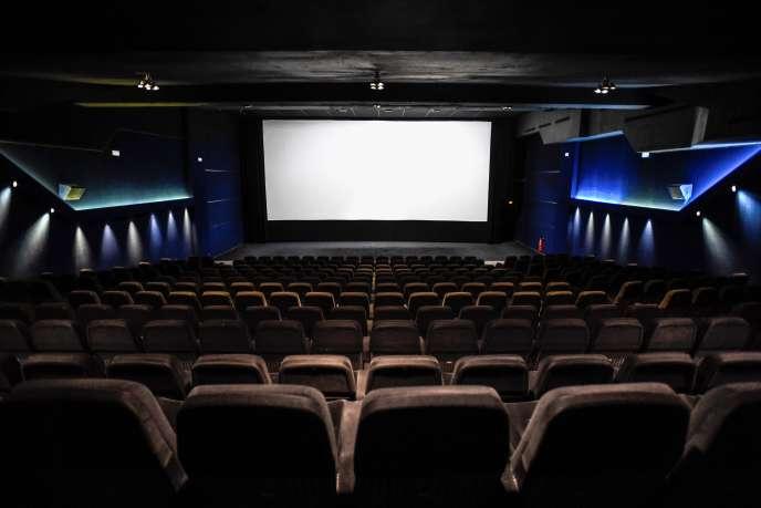 Au Cinema Majestic, à Paris, le 7 mai.