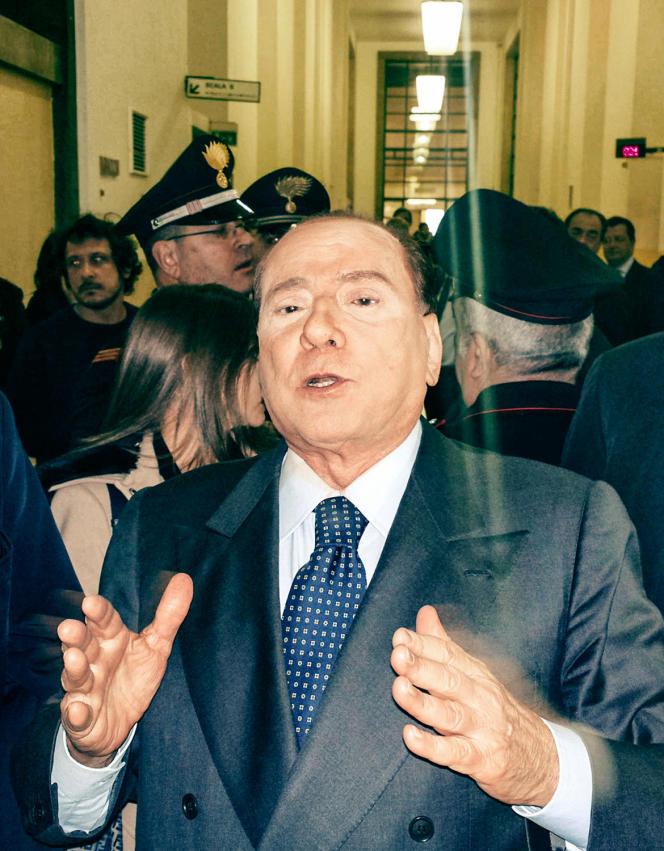 Silvio Berlusconi, à Milan, le 1er mars 2013.