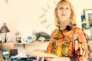 La première vice-présidente de la province Nord, Nadeige Faivre-Wackenthaler, chez elle, à Pouembout, en septembre.