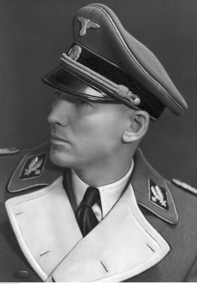 Otto von Wächter, gouverneur de Cracovie puis de Galicie entre janvier 1942 et juillet 1944.
