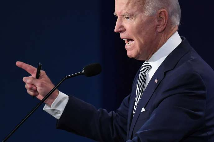 L'ancien vice-président américain Joe Biden le 29 septembre à Cleveland (Ohio).