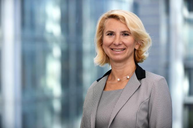 Beata Javorcik, chef économiste de la Banque européenne pour la reconstruction et le développement (BERD).