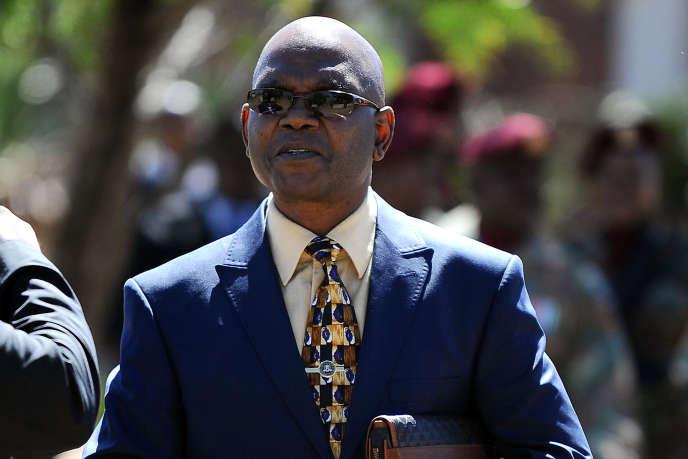Richard Mdluli, le 10 avril 2012 à Pretoria.