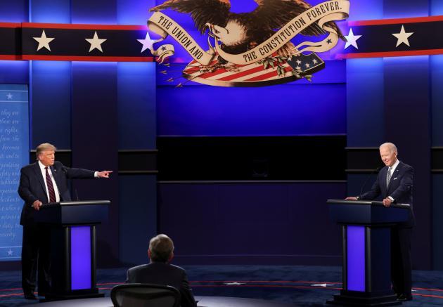 Premier débat présidentiel le 29 septembre à l'université de Cleveland.