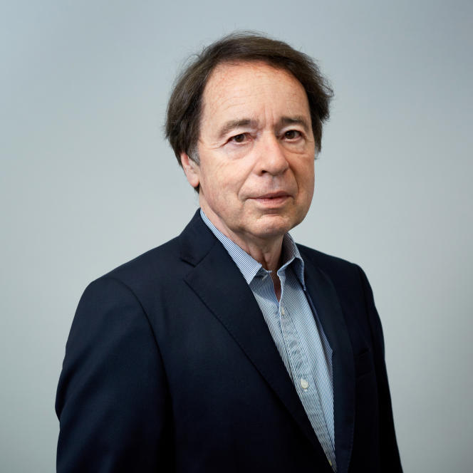 L'historien Jean-Noël Jeanneney, en 2017, à Paris.