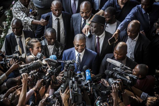 Campagne électorale à Kinshasa en décemnre 2018.