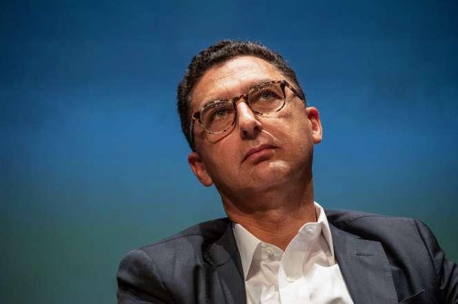 Maxime Saada, président du directoire du groupe Canal+, en 2019.