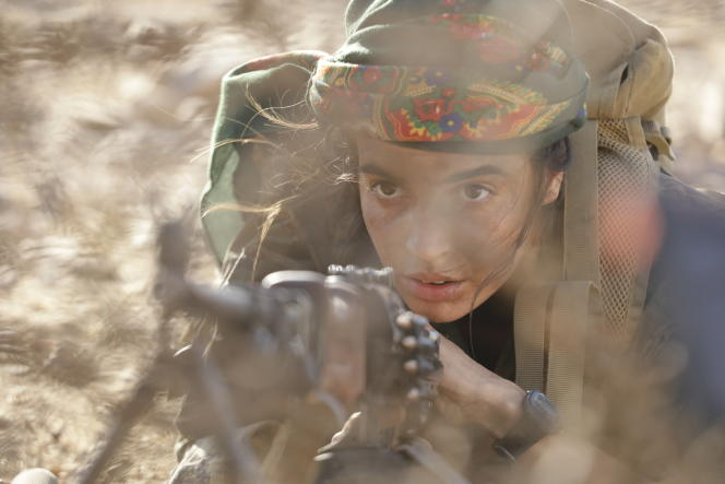 Sarya (Souheila Yacoub), combattante desYPG, dans «No Man's Land».