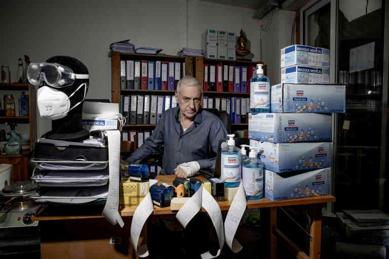 Ricardo Blanch, 64 ans, patron de Paris Querido Voyage.  Aubervilliers.