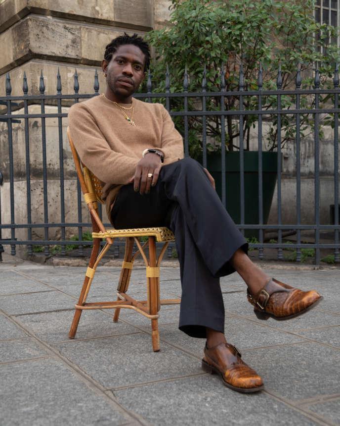 Kenneth Ize, le 1er octobre, à Paris.