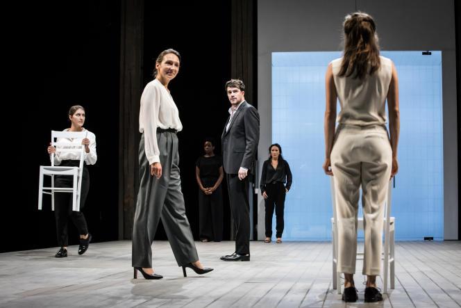 «Iphigénie», de Jean Racine. Mise en scène : Stéphane Braunschweig, à l'Odéon-Théâtre de l'Europe à, Paris.