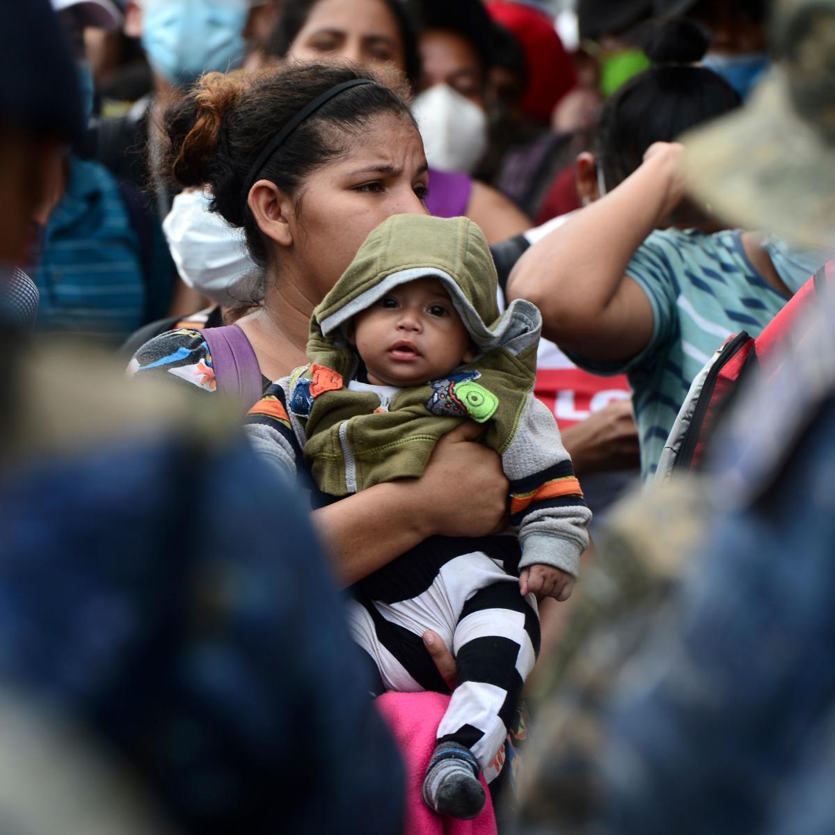 A la frontière de Corinto, au Honduras, le 1eroctobre.