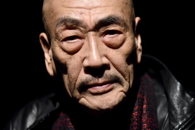 L'acteur et chorégraphe japonais Akaji Maro, le 22 novembre 2016, à Tokyo.