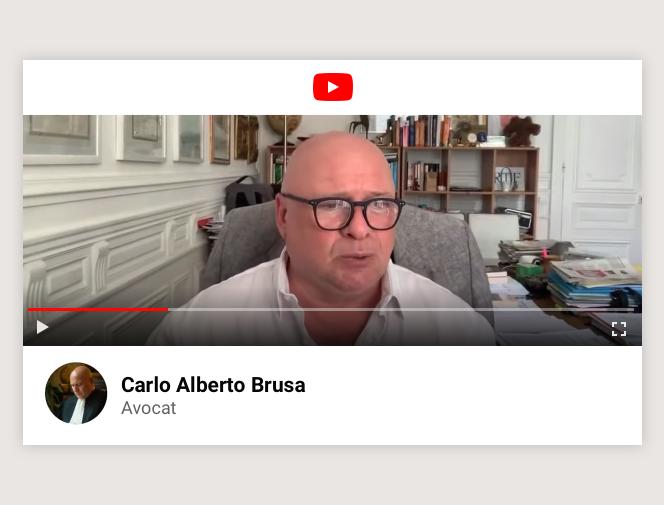 L'avocat Carlo Alberto Brusa.