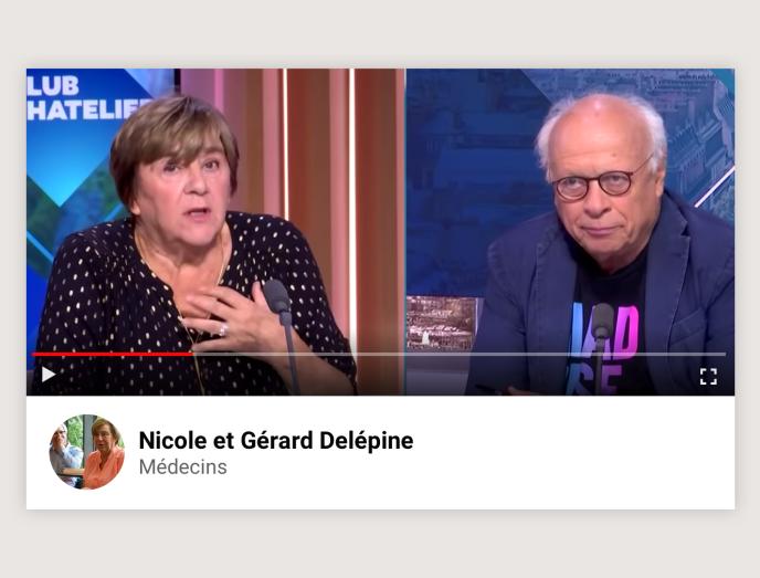 Les médecins Nicole et Gérard Delépine.