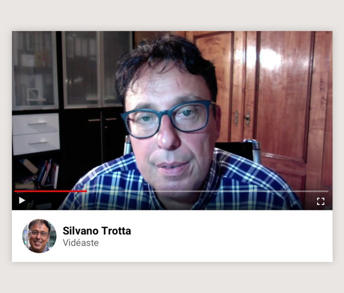 Le vidéaste Silvano Trotta.