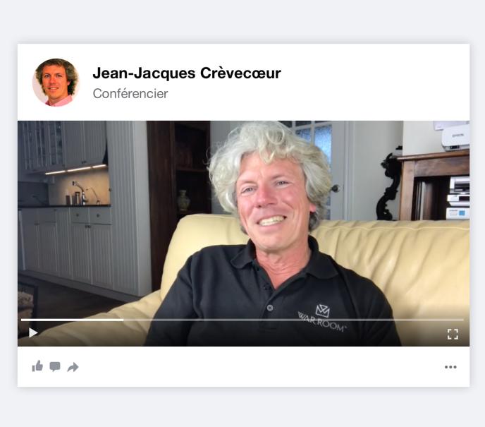 Le conférencier Jean-Jacques Crèvecoeur.