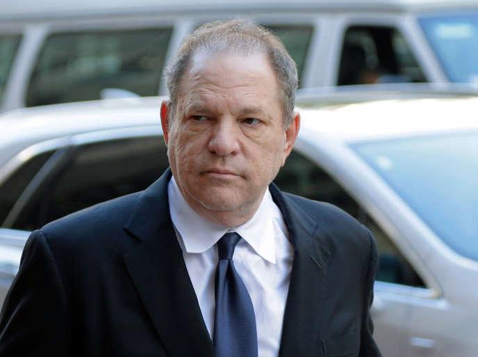 Harvey Weinstein alors de son arrivée au tribunal de New York, le9 juillet 2018.