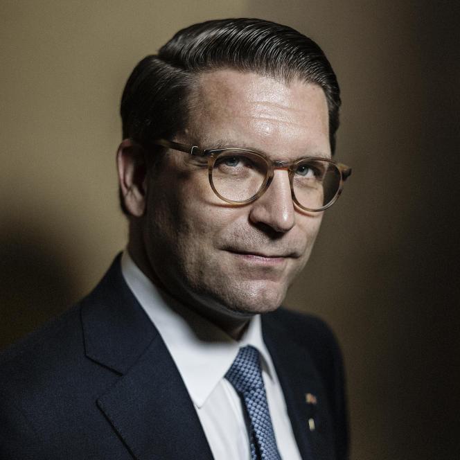 Alexander Neef, le jeudi 1er octobre 2020, à l'Opéra Garnier, à Paris.