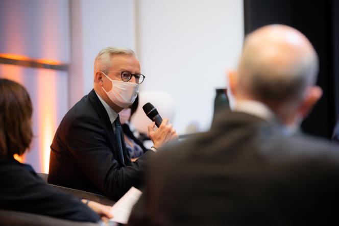 Bruno Le Maire, le 1er octobre 2020.