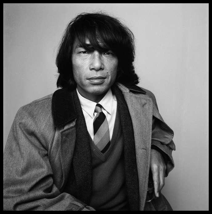Le designer et créateur japonais Kenzo Takada, en 1985.
