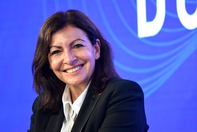 La maire de Paris, Anne Hidalgo, lors du«Sommet du Grand Paris», le 29 septembre à Paris.