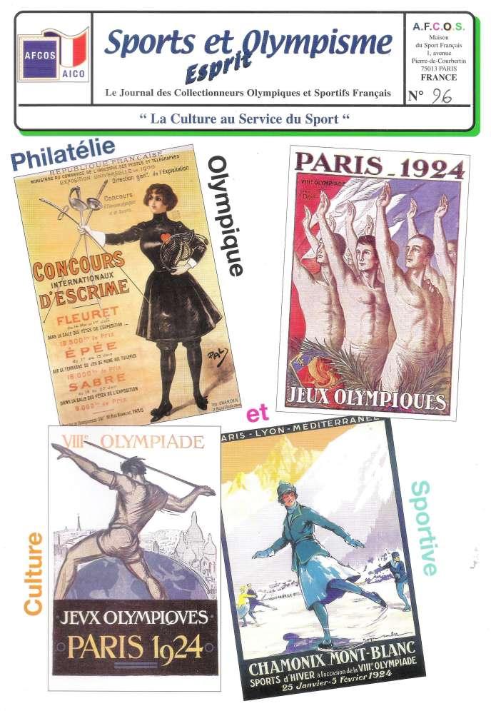 « Esprit, sports et olympisme », 24 pages, édité par l'Afcos, Maison du sport français, 1, avenue Pierre-de-Coubertin, 75013 Paris. Courriel : afcos@afcos.org.