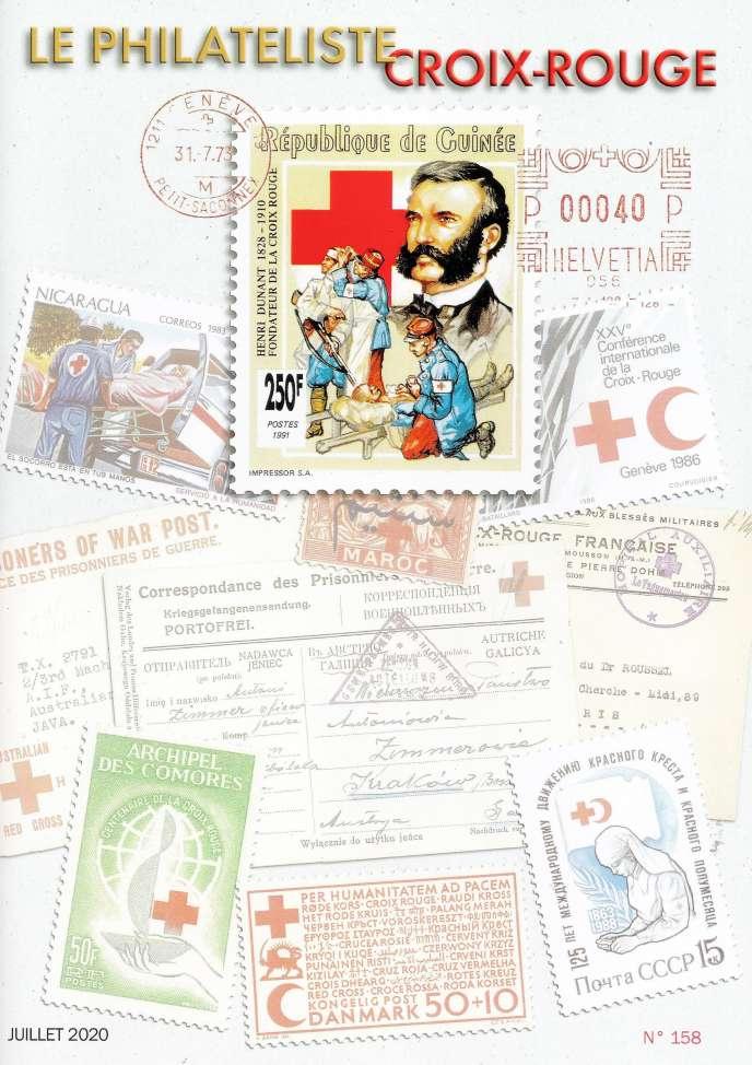 « Le Philatéliste Croix-Rouge », 40 pages, édité par le Club thématique Croix-Rouge, 20, rue Carnot, 95690 Nesles-la-Vallée (Tél. : 01-34-70-63-33 et 06-08-24-79-22 et courriel rankindustrie@wanadoo.fr).