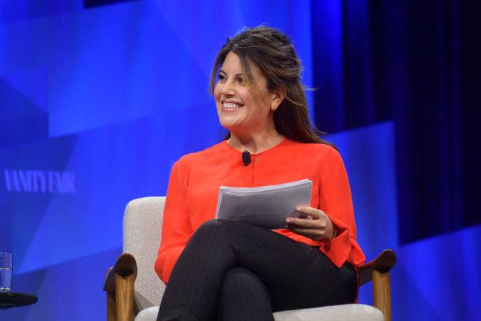 La chroniqueuse de «Vanity Fair»,Monica Lewinsky, le 22 octobre 2019 à Beverly Hills (Californie).