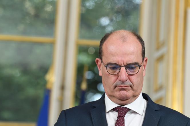 Le premier ministre Jean Castex, à Matignon, le 28 septembre.