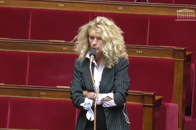 La médecin psychiatre et députée du Bas-Rhin Martine Wonner avait été exclue du groupe LRM au printemps après s'être opposée au confinement.