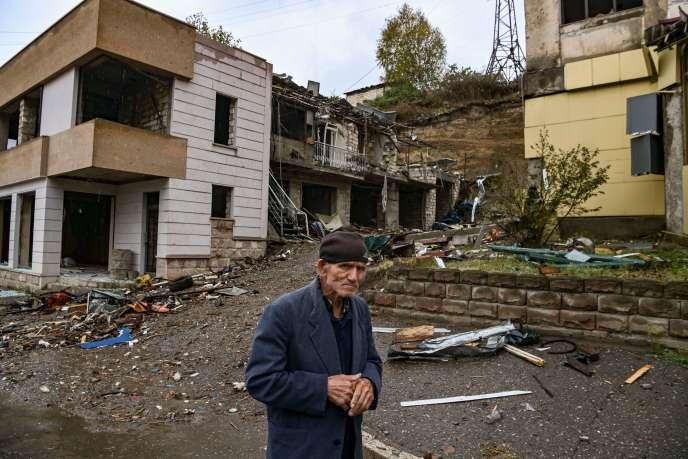 A Stepanakert, le 6 octobre.